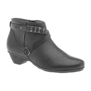 SOLD Abeo Nancy Ankle Booties Black  9 ()5128